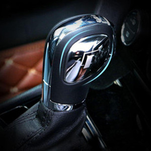 ingrosso adesivi per auto da volkswagen-Car Styling Gear Shift Knob Gear Head Cover Sticker per VW Volkswagen Golf Mk7 Golf Passat B5 B6 B7 Polo CC Tiguan Jetta