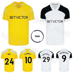 2020 2021 Men 9 MITROVIC Soccer Jersey 24 SERI 29 ANGUISSA 10 CAIRNEY 17 CAVALEIRO 11 KNOCKAERT 18 LEMINA KEBANO Football Shirt Kits