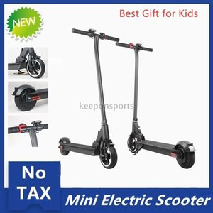 Wholesale new scooters wheels resale online - No Tax New Design Electric Scooter With V W W Inch Inch Wide Wheel Pro GPS Location MK083
