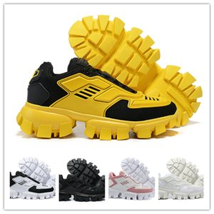 Wholesale new p for sale - Group buy 2021men women FW new capsule series camouflage black stylist shoes lates p cloudbust thunder sneakers black white yellow chaussures