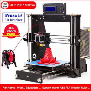 Wholesale prusa printer resale online - 2020 D Printer Reprap Prusa i3 DIY LCD Power Failure Resume Printing printer d Drucker Impressora Imprimante1