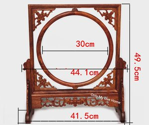 Wholesale chinese picture frames for sale - Group buy Chinese Style Rosewood Wooden Frame Mirror Stand Photo Picture Frame Antique Carved Paintings Frame Home Office Decor Ornaments