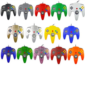 Wholesale nintendo 64 games resale online - Wired Joystick Game Pad Controller Gamepad For Super Nintendo N64 Console