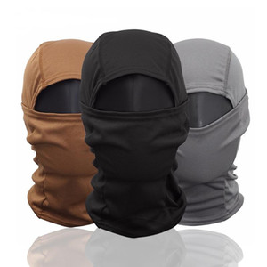 Wholesale cycling caps resale online - Tactical Balaclava Full Face Mask Camouflage Wargame Helmet Liner Cap Paintball Army Sport Mask Cover Cycling Ski