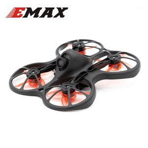ingrosso micro fpv droni da corsa -Emax Tinyhawks mm F4 OSD S TVL Camera CMOS Micro Indoor Mini RC multicopter FPV Racing Drone Quadcopter BNF1