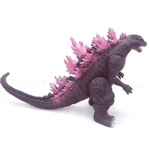 Wholesale figures pvc models resale online - Action Figures Collectible Model PVC Cartoon Movie simulation Gojira Articles dinosaur monster toys