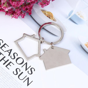 Wholesale best designer bags for women for sale - Group buy Women Cute Keychain Bag Charm For Party Best Gift Jewelry Cute Cartoon House With Window Keychain WQ637
