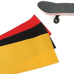 Wholesale sand papers for sale - Group buy 1PC CM Professional PVC Skateboard Sand paper Perforated Deck Grip Tape Griptape Skate Scooter Sticker Sandpaper1