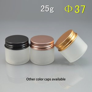 Wholesale pills pack resale online - Matte g Plastic Jar Refillable Frost Cosmetic lotion Cream Containers Candy Pill Capsule Packing Bottle