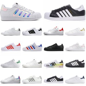 chaussures superstars achat en gros de-news_sitemap_homeVente chaude Stan Shar Smith Superstars Mens Femme Casual Chaussures Tripler Black Oreo Laser Plate forme Golden Plate forme Sports Sports de mode Fashion Formateurs
