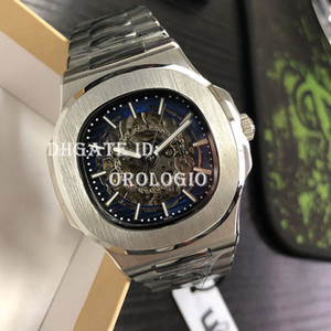 Wholesale super watch men resale online - 2021 men watch automatic mechanical hollow watches classic style mm full stainless steel ATM waterproof sapphire super luminous U1 watch