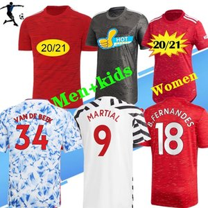 Wholesale army women uniforms resale online - 2020 Thailand FC manchester POGBA soccer jersey RD LINGARD MAGUIR RASHFORD women football shirt united uniforms man jerseys