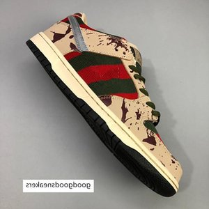 Dunk SB Top quality Low PRO Freddy Krueger Running Shoes Men Women Dunks Casual Skateboarding trainers Designer Sports Sneakers 36-45