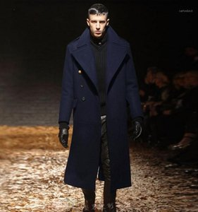 design de laine achat en gros de-news_sitemap_homeAutomne et hiver Hommes Slim Vêtements Trench Homme Design Long Manteau De Laine Manteau Hommes Cashmere Woolen Overcoat1