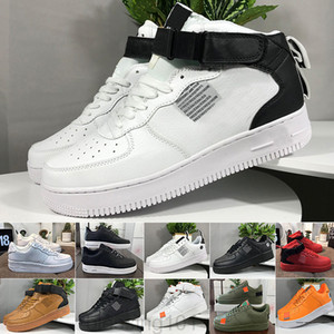 Wholesale one round resale online - Men Casual Froced Shoes Low men Sneakers Forces One Mens Trainers Sports Skateboard One Sports White Air Sneakers BT11