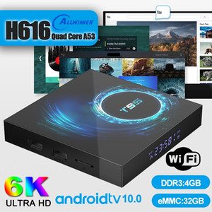 Wholesale free tv android box for sale - Group buy 5 Piece Android TV Box T95 GB GB H616 Support G Wifi K Caja de tv android PK H96
