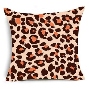 Wholesale purple zebra print resale online - Single sided Printing Animal Leopard Decorative Pillows Case Super Soft Velvet Black and White Zebra Pattern Cushion Cover Sofa DWF4875