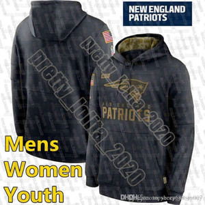 Wholesale patriot jerseys resale online - New England Patriots Men Sweatshirt Salute to Service Sideline Performance Pullover Hoodie Black women youth Football Jerseys