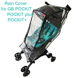 Wholesale rain cover for car resale online - Stroller Raincoat for Goodbaby Pockit Umbrella Car Rain Cover for GB Pockit Pushchair Windproof Clothes Trolley Accessories