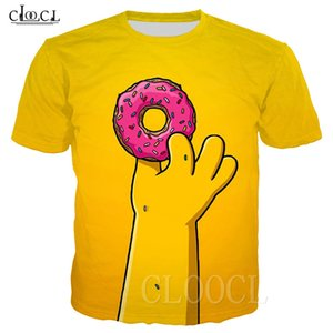 les simpsons achat en gros de-news_sitemap_homeHommes T shirt Tops Tees drôles Homère Simpson Donuts D Imprimé à manches courtes T shirt Fashion Casual Simpson Sweat shirt Unisexe Vêtements