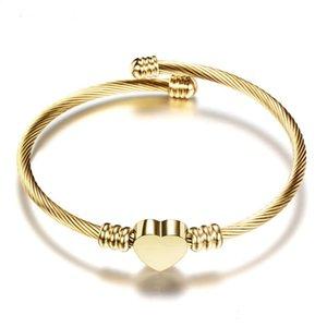 Wholesale Titanium Steel Bracelets silver rose gold bracelet Bangles Women Men Screw-driver Bracelet Couple Jewelry with red bag