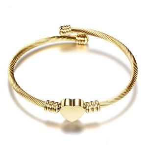 Wholesale Titanium Steel Love Bracelets silver rose gold bracelet Bangles Women Men Screw Screwdriver Bracelet Couple Jewelry with logo bag