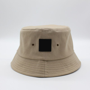 Wholesale unisex hats resale online - Fashion Bucket Hat Season Cap Pattern Embtoidery Stingy Brim Hats Man Women Unisex Caps Sun Wind Protection Color
