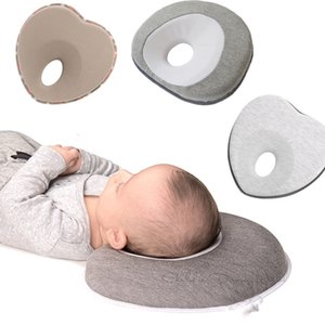 Wholesale baby flat head resale online - Head Shaping Baby Nursing Pillow Anti Roll Memory Foam Pillow Prevent Flat Head Neck Support Newborn Sleeping Cushion LJ200811