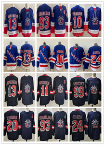 New Reverse Retro New York Rangers Jersey Alexis Lafreniere Kaapo Kakko Artemi Panarin Mika Zibanejad Chris Kreider Mark Messier Gretzky