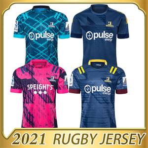 Wholesale highlander shirts resale online - 2020 new HIGHLANDERS Super Rugby Jersey Training Jerseys National Rugby League shirt Zealand HIGHLANDERS size s xl