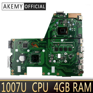 Wholesale laptop motherboards for sale - Group buy Akemy X551CA Laptop motherboard for ASUS X551CA X551CAP X551C X551 F551C F551CA Test original mainboard U CPU GB RAM1