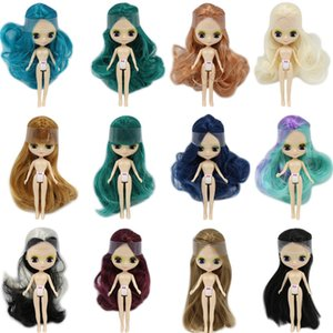 Wholesale blyth doll nude resale online - ICY Nude Mini Blyth Doll kinds of style clothes random BJD