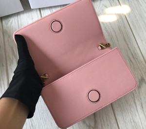 new fashion Women Shoulder Bags Love Heart Bag Mini Chain Flap Cross body Handbag High Quality Genuine Leather Quilted Handbag with box free