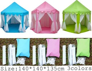 Wholesale outdoor playhouses kids for sale - Group buy INS Children Portable Toy Tents Princess Castle Play Game Tent Activity Fairy House Fun Indoor Outdoor Sport Playhouse Toy Kids Xmas Gifts