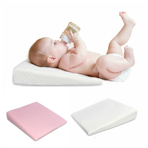 Wholesale baby flat head for sale - Group buy Baby Wedge Pillow Anti Reflux Colic Cushion For Pram Cushion Bass Flat Head Foam Baby Reflux Pillow LJ201209