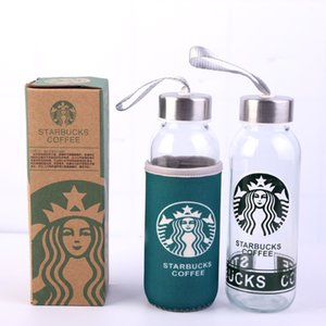 Wholesale mugs prices for sale - Group buy Factory Price ML Starbucks Cup Water Bottle Cup Coffee Juice Mug Glass Material Skinny Tumbler Simple Design Gift Product