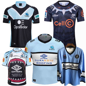 Top New 1988 2018 2019 2020 2021 shark rugby Jerseys sharks Rugby League jersey 19 20 21 shirts 5XL