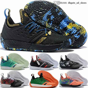 Wholesale harden vol 2 resale online - Harden vol scarpe trainers James tennis with box eur Sneakers women enfant youth size us basketball men shoes vol mens
