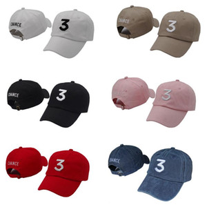 Free shipping Chance 3 the rapper cap Streetwear dad cap letter Baseball Cap Book 6 panel Real friends god hats for men women