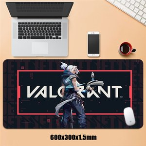 Large Rubber Mats Valorant Gaming Mousepad Keyboard Big Mouse Pad Speed Gamer Accessories Locking Edge XL Otaku Laptop Desk Pad LJ201031