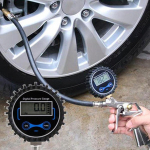 Wholesale automobile tire pressure gauge for sale - Group buy Universal Car Digital Display Tire Pressure Gauge High Precision Vehicle Tire Pressure Gauge Automobile Test Tool rFGV