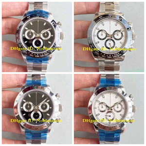 Wholesale swiss automatic chronograph watches for sale - Group buy 17 Style Mens Chronograph Ceramic Bezel Sport MM LN Automatic Swiss ETA Automatic Men s Watches Watch