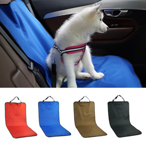 Wholesale travel accessories resale online - Pet Car Seat Covers Waterproof Back Seat Pet Cover Protector Mat Rear Safety Travel Accessories For Pet Carrier Car Rear Back Seat Mat