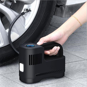 Wholesale car tire pump for sale - Group buy Car Tire Inflator Air Compressor Auto Tire Pump DC V Digital Screen Auto Air Pump Portable with LED Light Universal