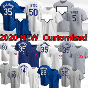 Mookie Betts Cody Bellinger Clayton Kershaw Custom Baseball Jersey Justin Turner Los Bryant Hernandez Corey Seager Angeles