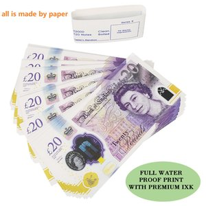 Movie Money Toys Uk Pounds GBP British 10 20 50 commemorative Prop Money toy For Kids Christmas Gifts or Video Film