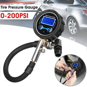 Wholesale lcd pressure gauge for sale - Group buy Digital LCD Tyre Tire Air Pump Pressure Gauge Tester PSI Car Motorcycle1