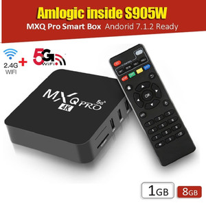 Wholesale android tv box 1gb 8gb resale online - Upgrade MXQ Pro Amlogic S905W G G WiFi Android GB Smart TV Box Better Than X96 TX3