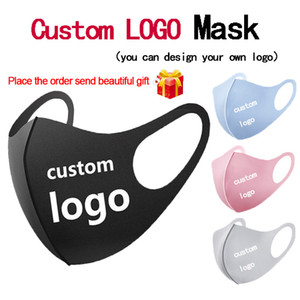 Wholesale mouth nose masks for sale - Group buy DIY custom logo adult Mask face Mouth nose protection cotton masks reusable washable fashion Anti dust masks dust proof DHL fast delivery