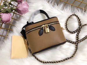 Wholesale bag for toiletries for sale - Group buy hot sale Travel Bag Mini Suitcase Beauty Case Grooming Essential with Weaved shoulder Strap Cosmetic Bag Fit Good Capacity for Toiletries